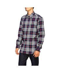 Burberry Blue Chambers Shirt for men