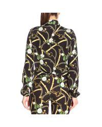 Liu Jo Black Polyester Shirt