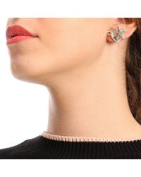 Elisabetta Franchi Metallic Jewel Women