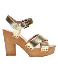 L'Autre Chose Metallic Shoes Women