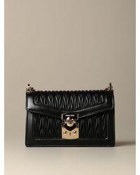 Miu Miu Black Shoulder Bag