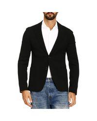 Giorgio Armani - Black Blazer Men for Men - Lyst