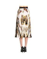 Versace White Skirt Women