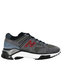 Hogan Gray Shoes Men for men