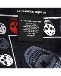 Alexander McQueen - Black Neck Scarf Men for Men - Lyst