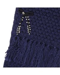 Twin Set - Blue Scarf Women - Lyst
