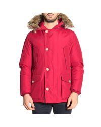 Woolrich - Red Jacket Men for Men - Lyst