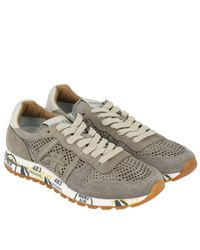 Premiata Gray Sneakers Men for men