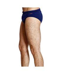 Zegna Sport - Blue Swimsuit Slip Basic for Men - Lyst