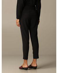 Manila Grace Black Pants