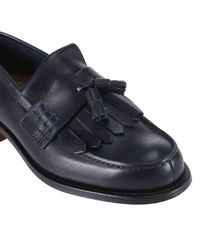 Church's Blue Loafers Shoes Men for men