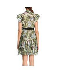 Pinko - Green Dress Women - Lyst