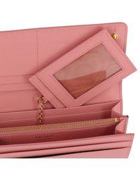 Prada Pink Wallet Women