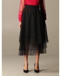 Twin Set Black Skirt