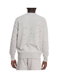 DIESEL - Gray Sweater Men for Men - Lyst