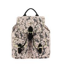 Twin Set Pink Backpack Shoulder Bag Women