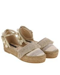 Patrizia Pepe - Natural Espadrilles Shoes Women - Lyst