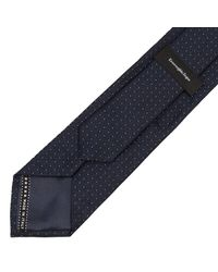 Ermenegildo Zegna   Blue Tie Men for Men   Lyst