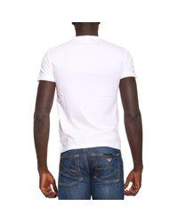 EA7   White T-shirt Men Ea7 for Men   Lyst