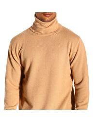 Laneus Brown Men's Sweater for men
