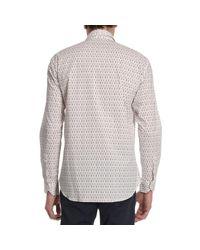 Etro White Men's Shirt for men