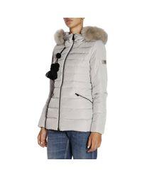 Peuterey - Gray Turmalet Puffer Jacket W/ Detachable Fur - Lyst