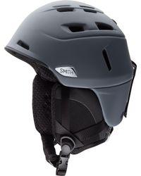 Smith Gray Camber Matte Helmet for men