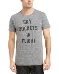 Sol Angeles Gray Sky Rockets T-shirt for men
