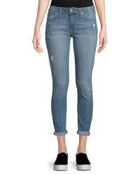 Joe's Blue Icon Cropped Skinny Jeans