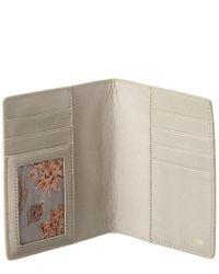 Hobo International Multicolor Quest Leather Passport Holder
