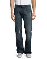 Robin's Jean Blue Straight Leg Cotton Jeans for men