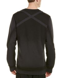 Reebok Black Rcf Fleece Crew for men