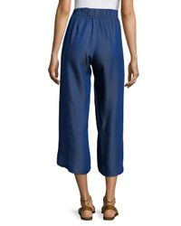 Sol Angeles Blue Summer Solid Pants