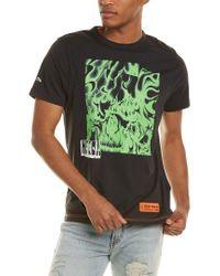 Heron Preston Green Box Skull T-shirt for men