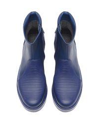 Camper Blue Vintar Leather Boot for men