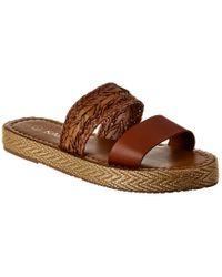 Kaanas Brown Hathor Leather Sandal