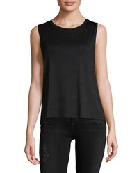 Gottex - Black Roundneck Tank Top - Lyst