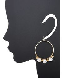 Chan Luu - Multicolor Coin Detail Gypsy Hoops - Lyst