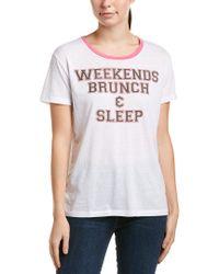 Chaser White Graphic T-shirt