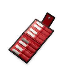 Jan Leslie - Multicolor Collar Stays & Leather Case - Lyst