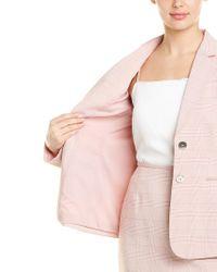 Tahari Pink Tahari Asl 2pc Skirt Suit