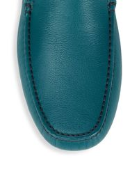 Brioni Multicolor Leather Moccasins for men