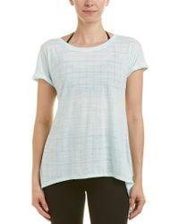 Splendid Blue Studio Split Back T-shirt