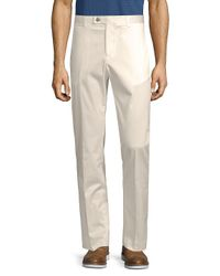 Paisley and Gray - White Classic Stretch Pants for Men - Lyst