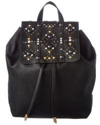 Foley + Corinna Black Foley + Corinna Stargazer Avery Leather Backpack