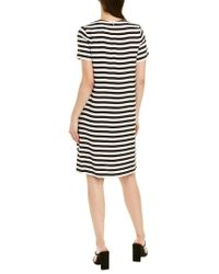 Max Mara White Shift Dress