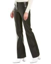 Theory Black Casual Flare Pant
