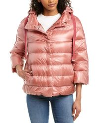 Herno Pink Padded Down Jacket