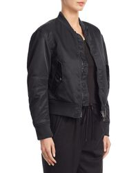 3.1 Phillip Lim Green Lace-up Bomber Jacket