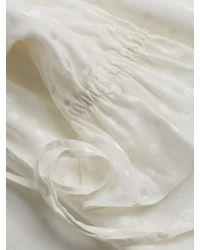 Sandro - White H16 Lori Polka Dot Dress - Lyst